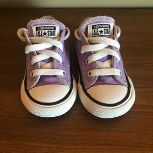 Converse Toddler Purple/Lilac Sneakers